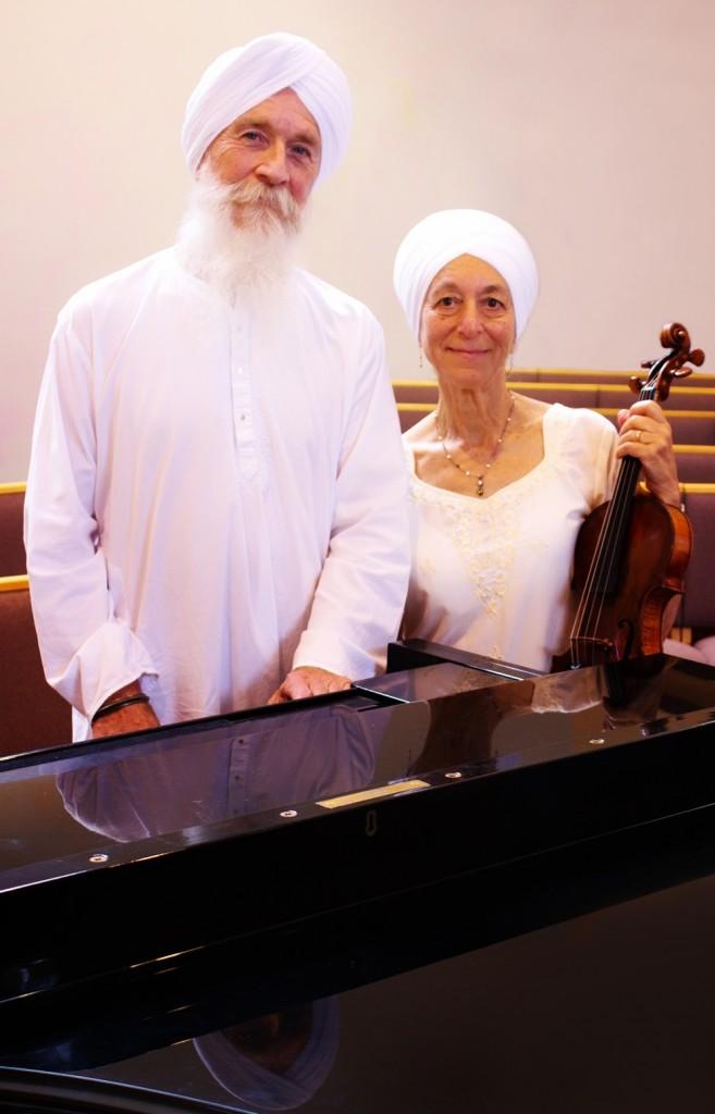 Amar and Sybomar Khalsa Peace Lutheran Color