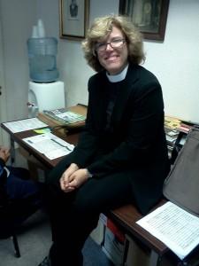 Vicar Brenda Bos