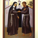 Francis and Clare icon